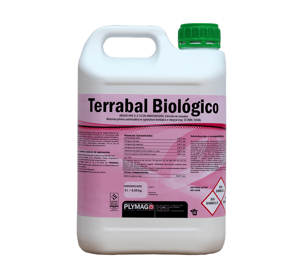 bionutrientes terrabal biologico