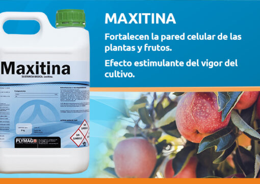 Maxitina has been officially certified for organic farming
