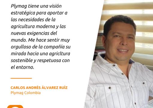 Lanzamiento de Plymag Colombia. Entrevista a Carlos Andrés.